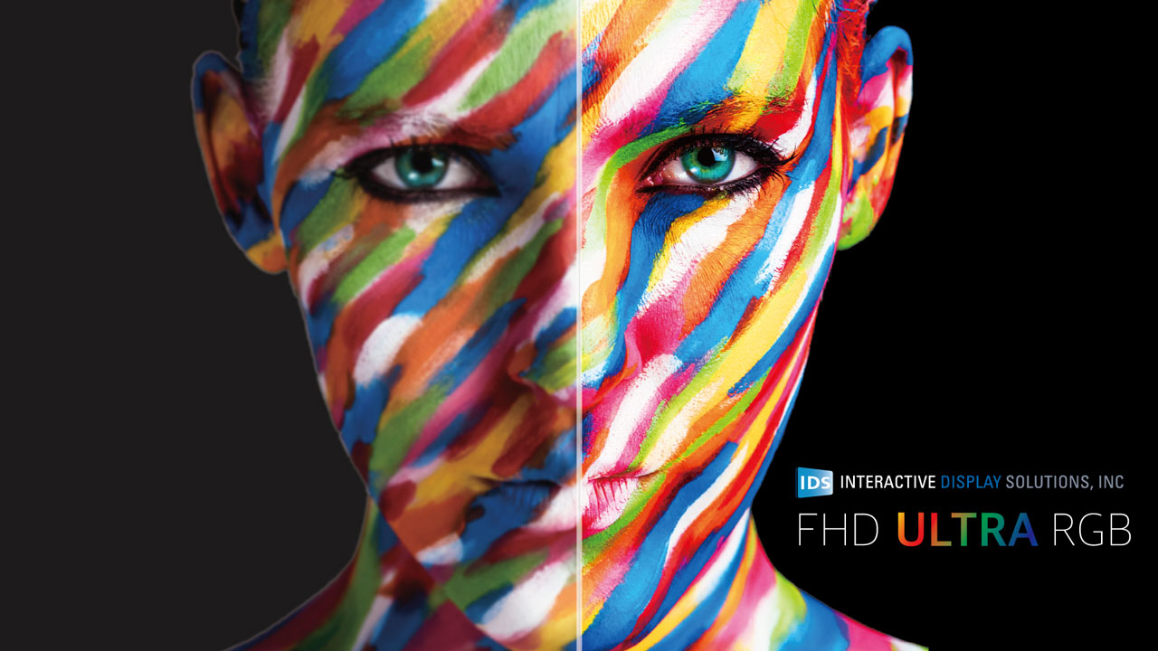 superior color in full hd interactive display solutions